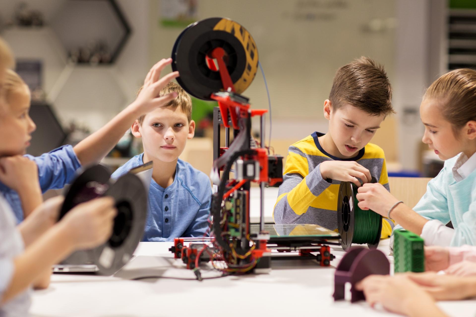 TECHAK.cz - technická akademie - 3D tisk a tvorba